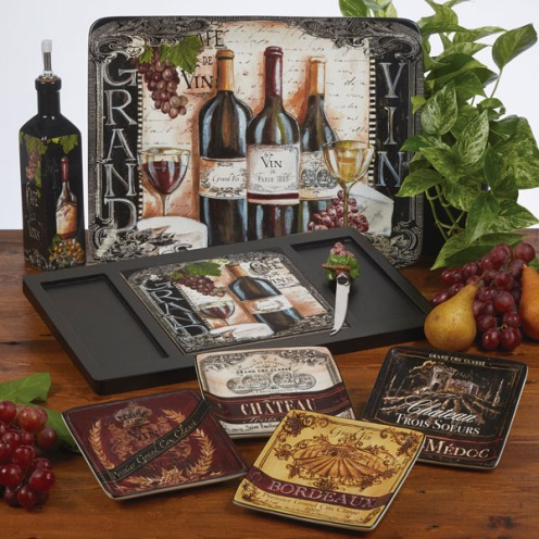 Grand Vin Wine Tableware by Tre Sorelle Studios/Certified International