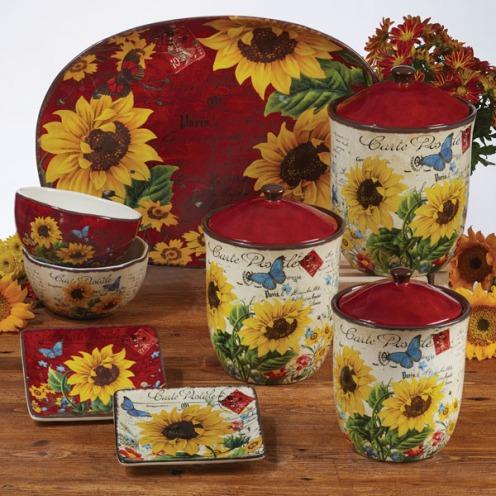 Sunflower Meadows Tableware by Tre Sorelle Studios/ Certified International