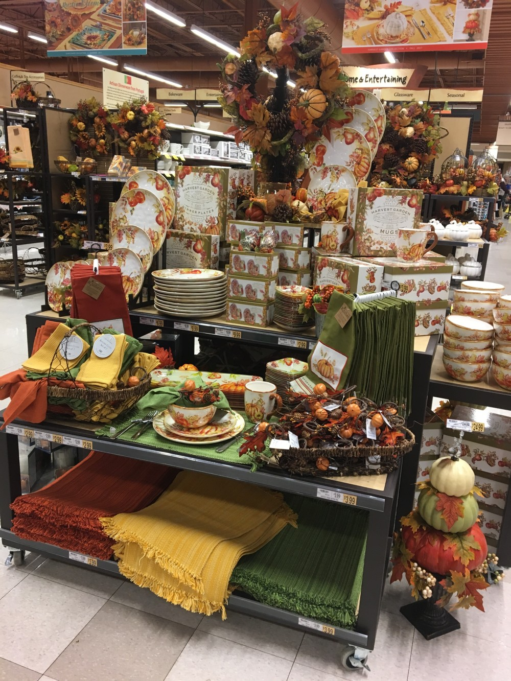 harvest focus display